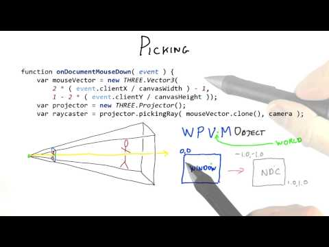 Picking - Interactive 3D Graphics