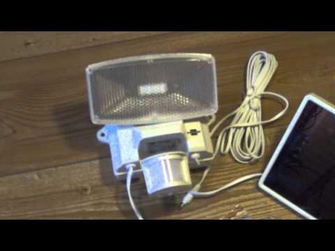 brennenstuhl sol80 plus solar led strahler mit bewegungsmelder youtube