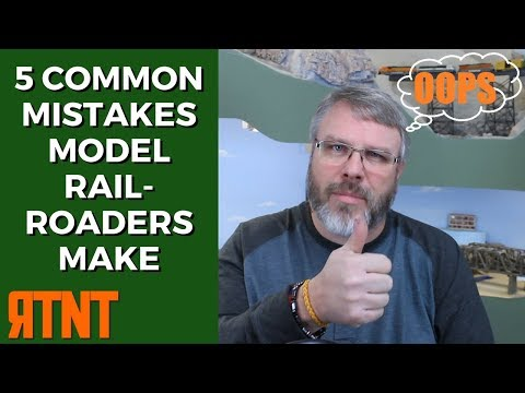5 Common Mistakes Beginning Model Railroaders Make