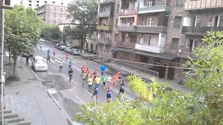 Երևանյան առաջին կիսամարաթոնը - Первый марафон Еревана