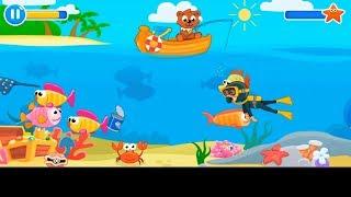 мульт игра Рыбалка для малышей. Учимся ловить рыбу.