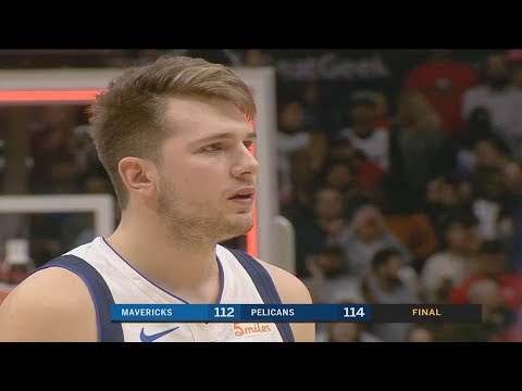 Luka Doncic Gets ANGRY After Dennis Smith Jr Wastes Game Winner! Mavericks vs Pelicans