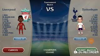 Champions League!!! (3' rodada) Liverpool 4 x Tottenham 0
