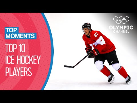 Iconic Ice Hockey Players At The Olympics | Top Moments