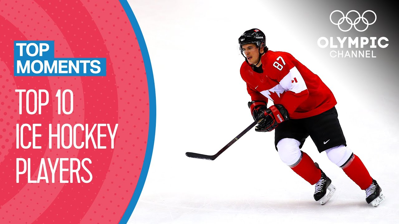 Iconic Ice Hockey players at the Olympics | Top Moments - YouTube