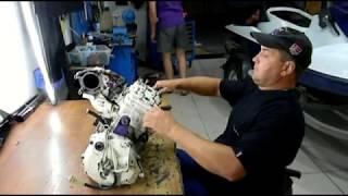Ремонт гідроцикла BRP Sea Doo XP Rotax 787 двигун прогорів поршень ремонт поршневий
