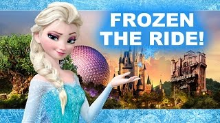 frozen ride at epcot s norway pavilion christmas with elsa anna beyond the trailer disney