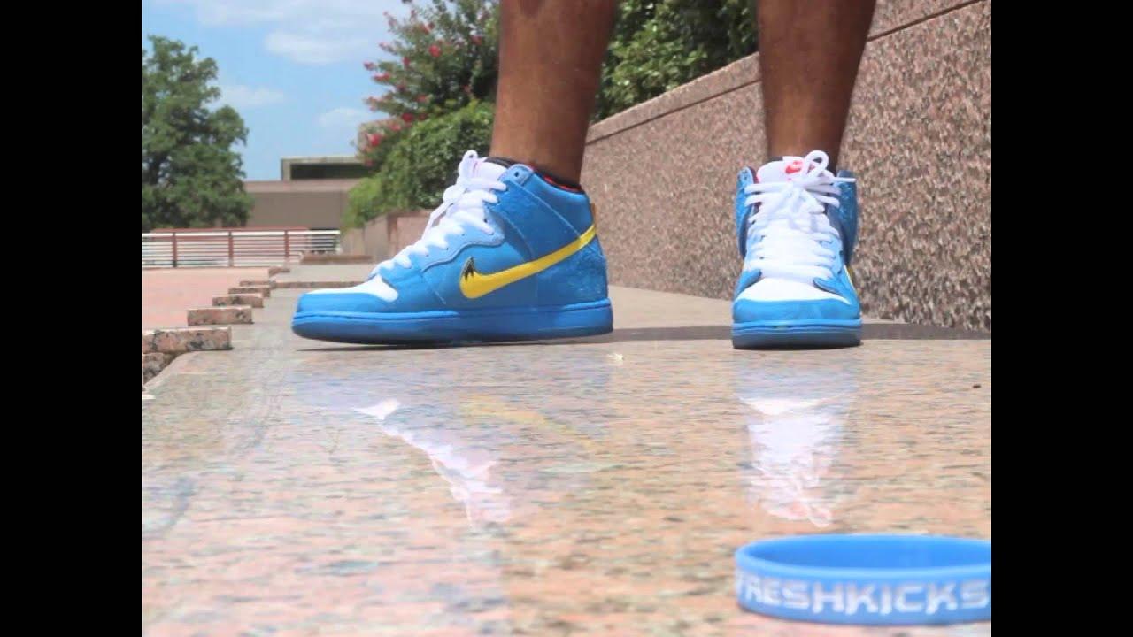 Nike Sb Blue Ox on feet video