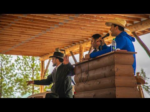 Log Homes, Pavilions at Auction- Meadowlark Log Homes 2019