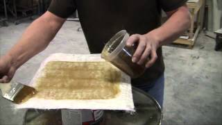 How to laminate with fiberglass