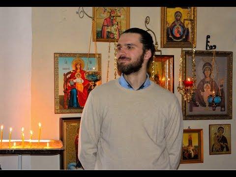 Божественная литургия.  В. Хлопкова.  Чит.  В. Алёшин.