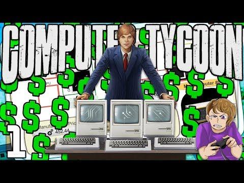Computer Tycoon - STEVE JOBS SIMULATOR!! MY FIRST COMPUTER!! - Ep. 1 - Computer Tycoon Game Gameplay