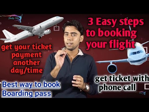 How to book a flight in low price /  Hold booking / how to get boarding pass