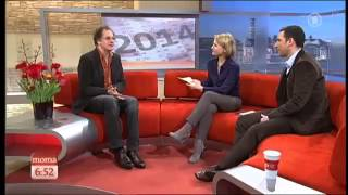 Chin Meyer ARD Morgenmagazin am 02.01.2014 Teil 1
