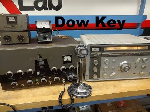 How to connect Ham Radio Station Transmitter Receiver Dow Key Relay