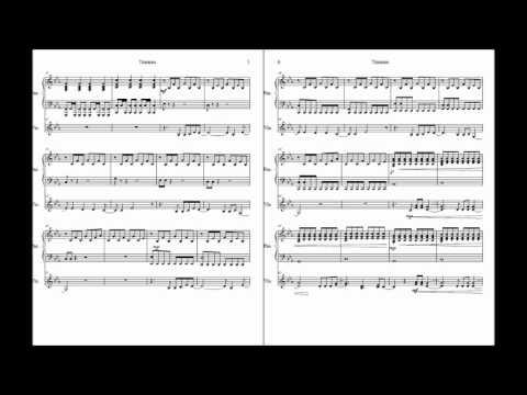 Titanium David Guetta Piano Accompaniment Sheet Music W Violin