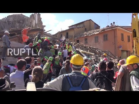 LIVE from Amatrice following devastating 6.2-magnitude earthquake