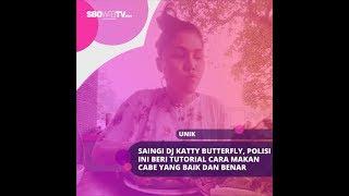 SAINGI DJ KATTY BUTTERFLY, POLISI INI BERI TUTORIAL CARA MAKAN CABE YANG BAIK DAN BENAR