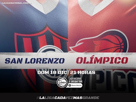 Liga Nacional: San Lorenzo vs. Olimpico | #LaLigaEnTyC