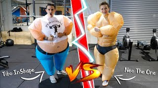J'AFFRONTE TIBO INSHAPE DANS L'OCTOGONE ! 🤜🤛 - Néo The One
