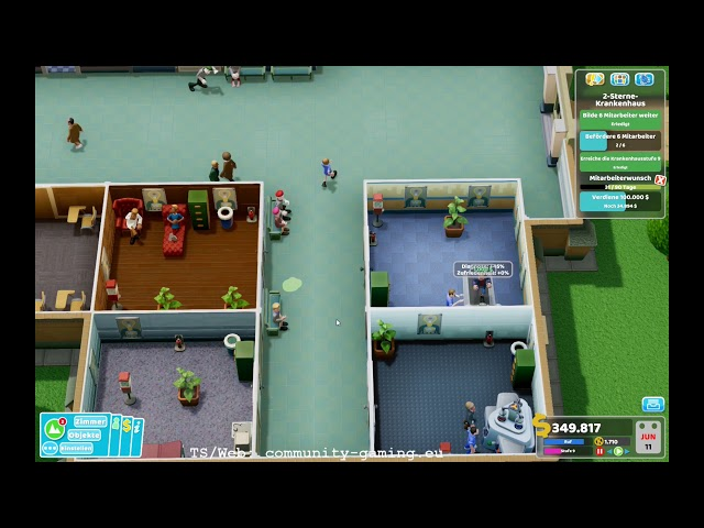 Stufe 3 und mehr Mono-Brauen | Folge #010 | Let's Play Two Point Hospital