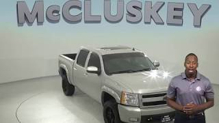 A97861GT Used 2007 Chevrolet Silverado 1500 LT 4WD Silver Z71 Test Drive, Review, For Sale -