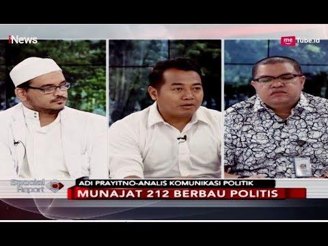 Debat Razman Arif vs Idrus Al Habsyi soal Orasi Fahri Hamzah di Munajat 212 - Special Report 22/02