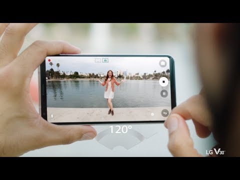 LG V30 x Wide Angle Lens