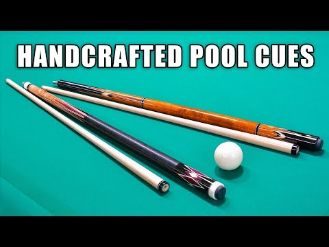 How Handcrafted Pool Cues Are Made - Shop Tour!