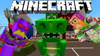 MINECRAFT TOY STORY ADVENTURES | REX RESCUES BUZZ LIGHTYEAR | Minecraft Xbox