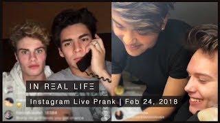 In Real Life | Instagram Live Prank (02.24.18)