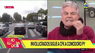 Así fue el cruce entre Raúl Rizzo y Débora Plager en #involucrados