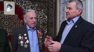 Юбилей со дня рождения отпраздновал  ветеран войны и труда Петр Филенко