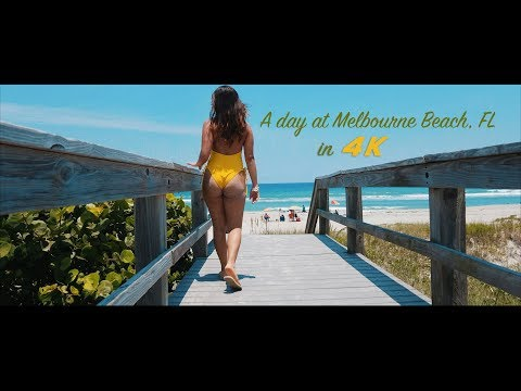 DJI Mavic Air 4k cinematic film in Melbourne Beach, Florida
