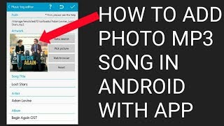 Add an Image to MP3 Files using star music tag editor abid technology