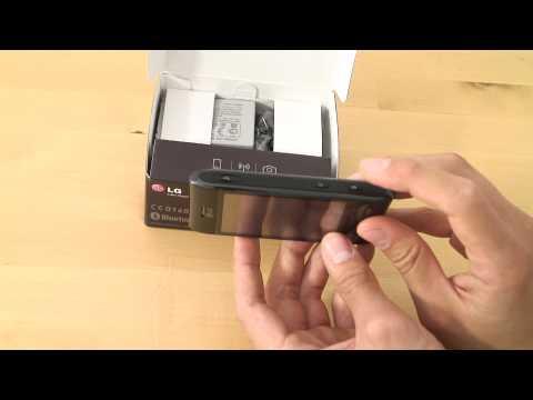 LG GT540 Test Erster Eindruck