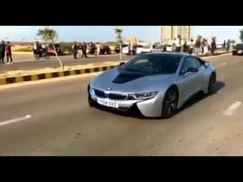 First I8 Bmw In Karachi Pakistan 2017 Super Sports Cars In