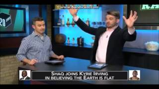 Flat Earth - 120 SPORTS talk Shaquille O'Neal Flat Earth