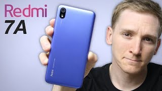 Redmi 7A: The unbelievable smartphone.