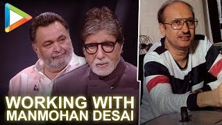 Amitabh Bachchan & Rishi Kapoor Talk About Working With Manmohan Desai | 102 Not Out