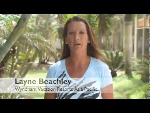 Layne Beachley   Ambassador of Wyndham Vacation Resorts Asia Pacific