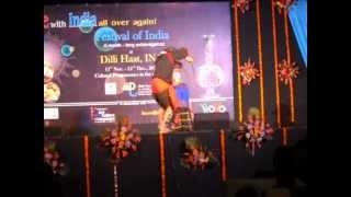 Indian vegetable cutting Dance