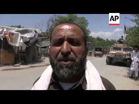 Taliban fighters storm government building in eastern Afghanistan