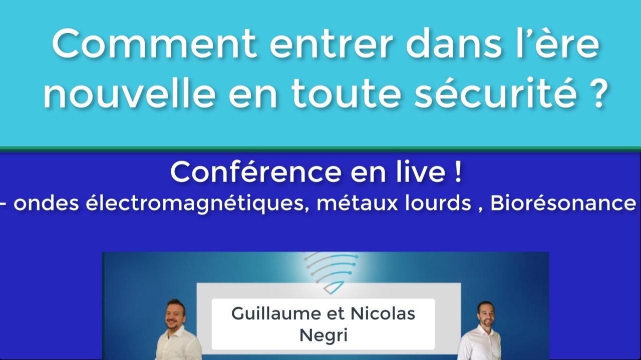 Webconférence avec Nicolas et Guillaume NEGRI