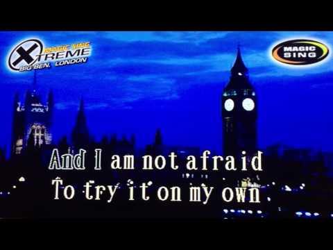 On My Own by Whitney Houston - Karaoke