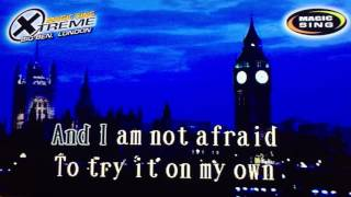 On My Own by Whitney Houston - Karaoke