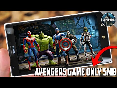 [5MB] The Marvel Avengers Mobile Best Graphics Game On Android | Download Now | Marvel Avengers Game