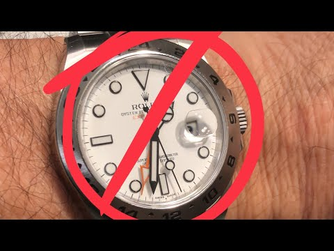 Rolex Explorer ii 216570: the most hated Rolex, Polar Explorer ii is the dog of the range