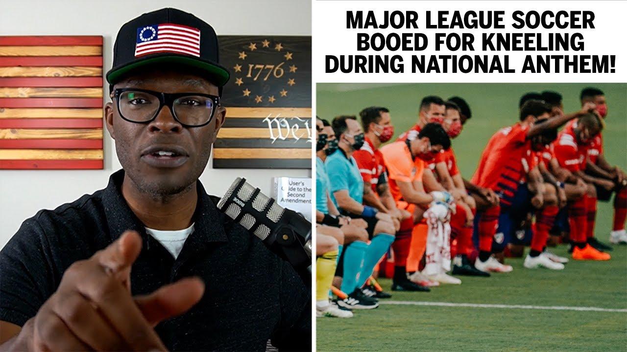 Major League Soccer Teams BOOED For Anthem Kneeling!