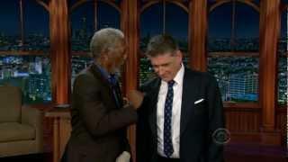 TLLS Craig Ferguson - 2013.03.25 - Morgan Freeman, Vera Farmiga